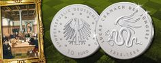 25. Januar 1586 – Lucas Cranach der Jüngere verstirbt, ihm ist die letzte BRD Gedenkmünze mit dem Nominal 10 Euro gewidmet