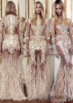 Natasha Poly. Givenchy Haute Couture Fall/Winter 2010-2011.  Bloody gorgeous.