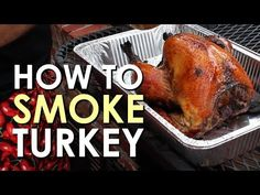 HOW TO SMOKE A TURKEY | ART OF MANLINESS
