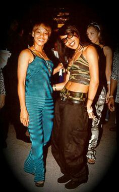 Left Eye and Aaliyah