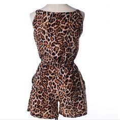 Un mono de leopardo es lo mejor para el verano