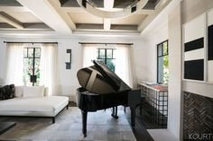Kourtney Kardashian Didn't Design Her Living Room With Comfort in Mind
