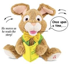 Story Time Bunny Tells The Story Of Peter Rabbit Story Of Peter, Collections Ect, Christmas Hanukkah, Bunny Plush, Peter Rabbit, Plush Animals, Inspirational Gifts, Gifts For Boys, Story Time