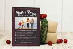 Year in Review Card Ideas #yearinreviewcards #holidaycards