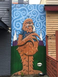 A map of 22 of Seattle's most iconic murals and the stories behind them - The Evergrey Rainy City, Us Map, Urban Art, Geography, Vancouver, Seattle, Murals, Places To Go, Washington