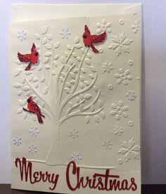 Cardinal Christmas card 2016