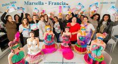 """Taller en Marsella - Francia escuela """"Dolce Dita"""" octubre 2013"""