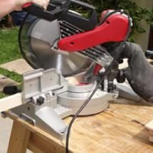 Compound Miter Saw - (c) 2007 Chris Baylor licensed to About.com, Inc.