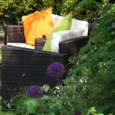 Dapple sunlight - Blenheim rattan set