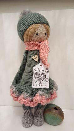 Bailarina por encargo Lalylala muñeca por KitchAndMaud en Etsy
