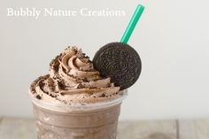 Starbucks mocha cookie crumble frappucino copycat recipe :) Why pay five dollars for something you can make at home whenever you like with simple ingredients?