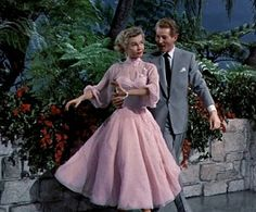 "Edith Head designed Vera-Ellen dress in 1954 ""White Christmas""."