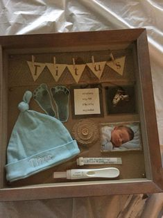 20 Shadow Box Ideas Cute and Creative Displaying meaningful memories Re-Scape.c 20 Shadow Box Ideas Cute and Creative Displaying meaningful memories Re-Scape. Travel Shadow Boxes, Diy Shadow Box, Baby Shadow Boxes, Wedding Shadow Boxes, Shadow Box Memory, Newborn Shadow Box, Cadre Diy, Diy Bebe, Baby Boy