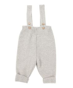 Look what I found on #zulily! Light Gray Wool-Blend Suspender Pants - Infant & Toddler by Mole - Little Norway #zulilyfinds
