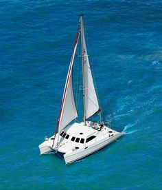 Odyssey Sailing Catamarans charter - Broadblue 385        This catamaran is unique in Greece - the only one of its kind. Charter from Athens or other locations upon request in the Greek islands. Charter bareboat or with skipper or additional crew.