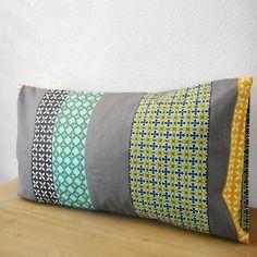 Housse de coussin 50x30cm - tissu tendance scandinave