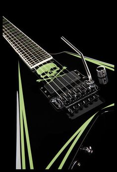 ESP LTD Alexi 600 Greeny Signature - Thomann - Alexi Laiho signature model - #guitar #electricguitar #signature