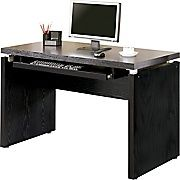 Shop Staples® for Coaster® Wood Peel Computer Desk With Keyboard Tray, Black/Brown. Enjoy everyday low prices and get everything you need for a home office or business.