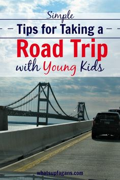 6 Simple Tips for Taking a Road Trip with Kids, especially young ones!