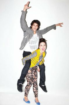 Teen Wolf cast Crystal and Tyler P. <3