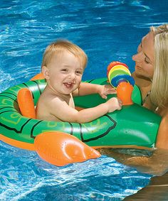 Turtle Mommy & Baby Seat Float