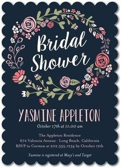 Celebrate the bride-to-be with an enchanted, whimsical bridal shower!