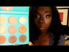 Makeup Review: Juvia's Place -The Nubian (Green Palette) - YouTube