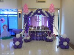 Sofia the first decoration