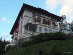 Villa Excelsior in Bad Gastein, Austria Abandoned Castles, Tour Guide, Austria, Building A House, Buildings, To Go, Villa, Homes, Mansions