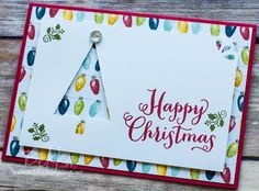 Stampin' Up! UK Feeling Crafty - Bekka Prideaux Stampin' Up! UK Independent Demonstrator: Oh What Fun Fast and Fabulous Christmas Tree Cards