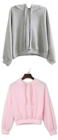 Basic sports hoodies for every girls. U may need one to wear outside.