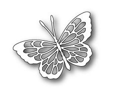 Poppystamps Die: Theo Butterfly