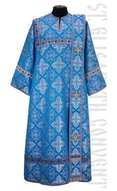 Handmade Deacon Vestments from the Sewing Workshop of St.Elisabeth Convent.    Learn more: https://catalog.obitel-minsk.com/deacon-vestment-sh-12-2-2.html    #CatalogOfGoodDeeds #Orthodoxy #OrthodoxVestments #DeaconVestments #OrderVestments