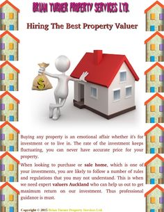 We helps you make more confident property valuations when selling. It is one of the factors used to calculate property values. Here some professional guidance for choosing the best property valuer.