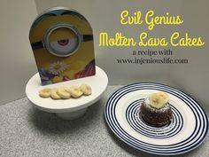 Evil Genius Molten Lava Cakes – A Recipe