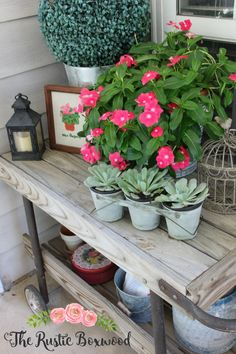 $5 vintage bar cart from an estate sale | The Rustic Boxwood | vintage, farmhouse style, back porch, georgia, the south, summer