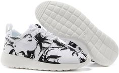 timeless design 8533b c2c92 2015 Nike Wmns Roshe Run Mens Shoes Discount Online Shop Couples Sneaker  Coconut Trees White Nike