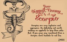 Which Zodiac Sign Is Your Biggest Enemy?