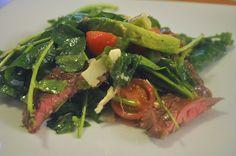 Arugula Caesar Salad by Adriana-GF360, via Flickr