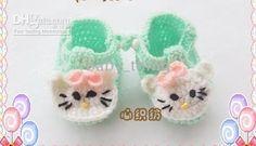 Kitty walker shoes- crochet