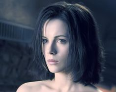 All that said, Selene, played by Kate Beckinsale, is a vampire warrior, entrenched in a war between the vampires and the werewolf races. Description from scififx.com. I searched for this on bing.com/images