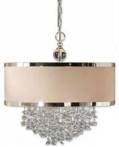 Uttermost Lighting, Fascination 3-Light Hanging Shade