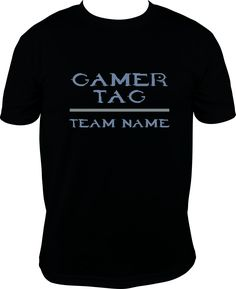 HALO Gamer Tag With Team/Group/Guild Name by FreeSpiritDesignShop on Etsy