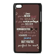 CTSLR 1D One Direction Quote Hard Case Cover Skin for iPod Touch 4 4G 4th Generation- 1 Pack - Black/White - 2 CTSLR http://www.amazon.com/dp/B00IE59JNW/ref=cm_sw_r_pi_dp_I1Igub06XFMGJ
