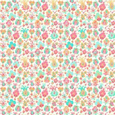 Paisley flowers fabric by dariara on Spoonflower - custom fabric
