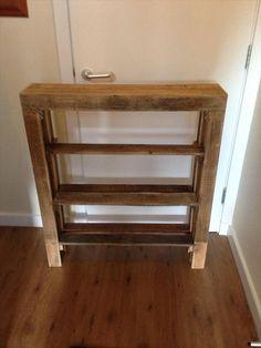 DIY Reclaimed Pallet Wood Shoe Rack   Pallet Furniture DIY