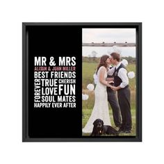 All About Us Canvas Print, Black, Single piece, 12 x 12 inches, Black