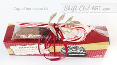 Party favor or teacher gift - cup of hot cocoa kit with some Peppermint Joe Joe's