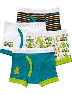 Graphic Brief 4-Packs for Baby