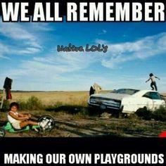Haha, yup!! Rez playground!!